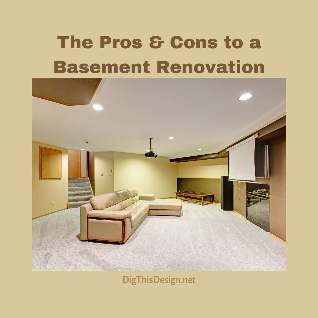 Pros & Cons On Basement Renovation