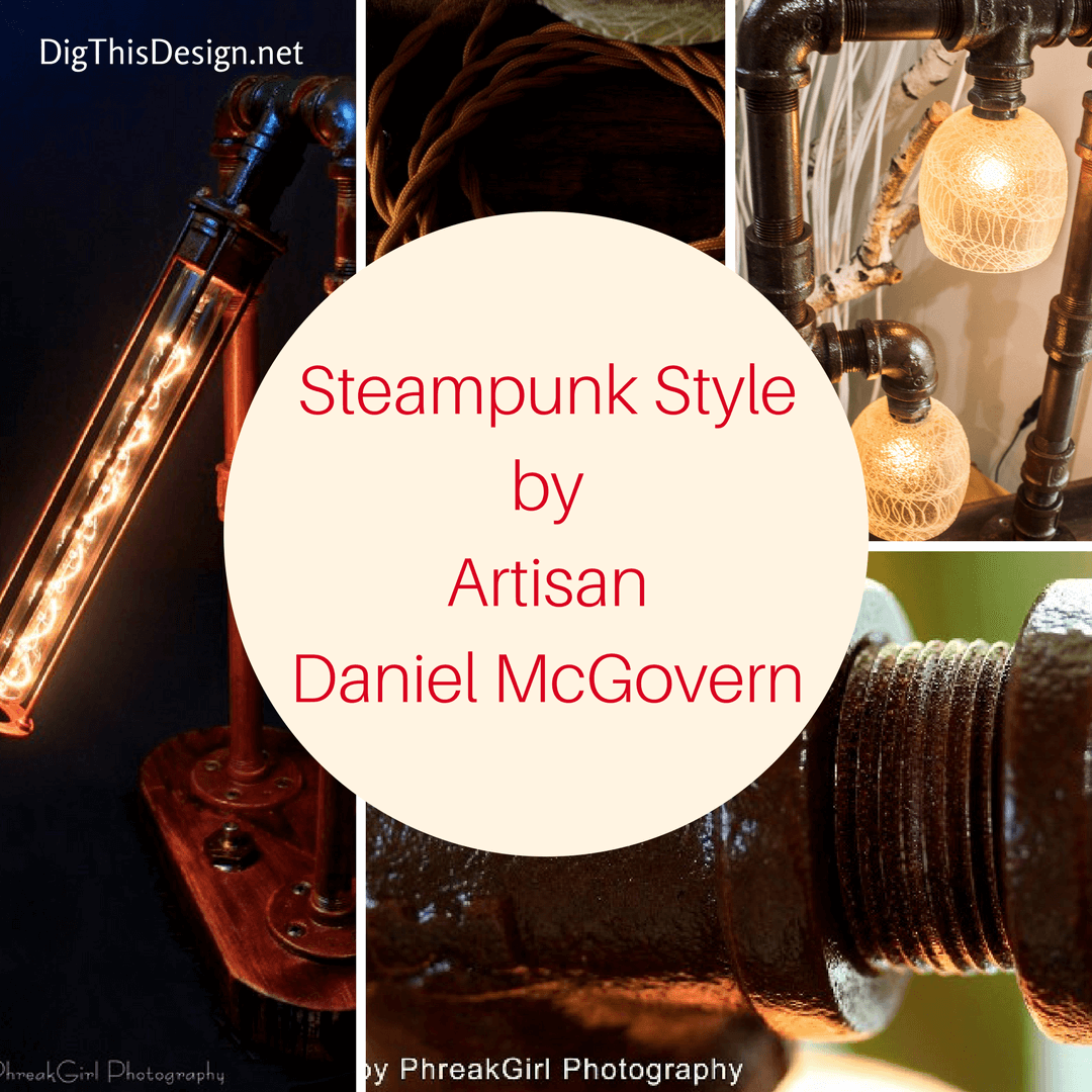 Industrial Style lighting - Steampunk StylebyArtisanDaniel McGovern (2) (1)