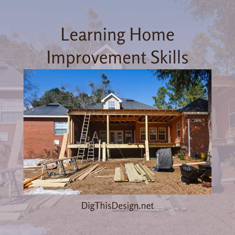 Learning Home Improvement Skills