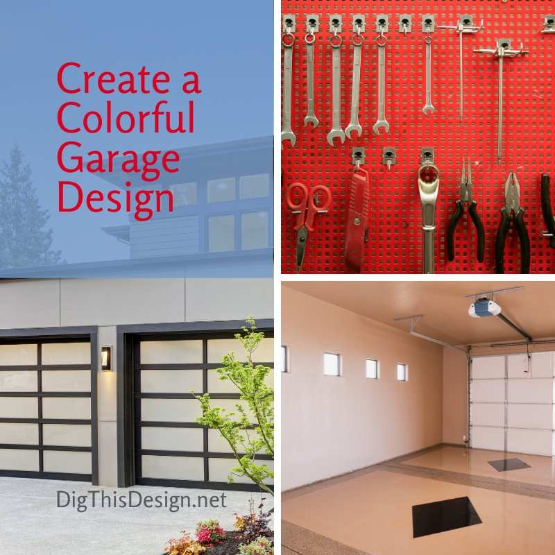 Create a Colorful Garage Design
