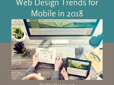Web Design Trends for Mobile in 2018