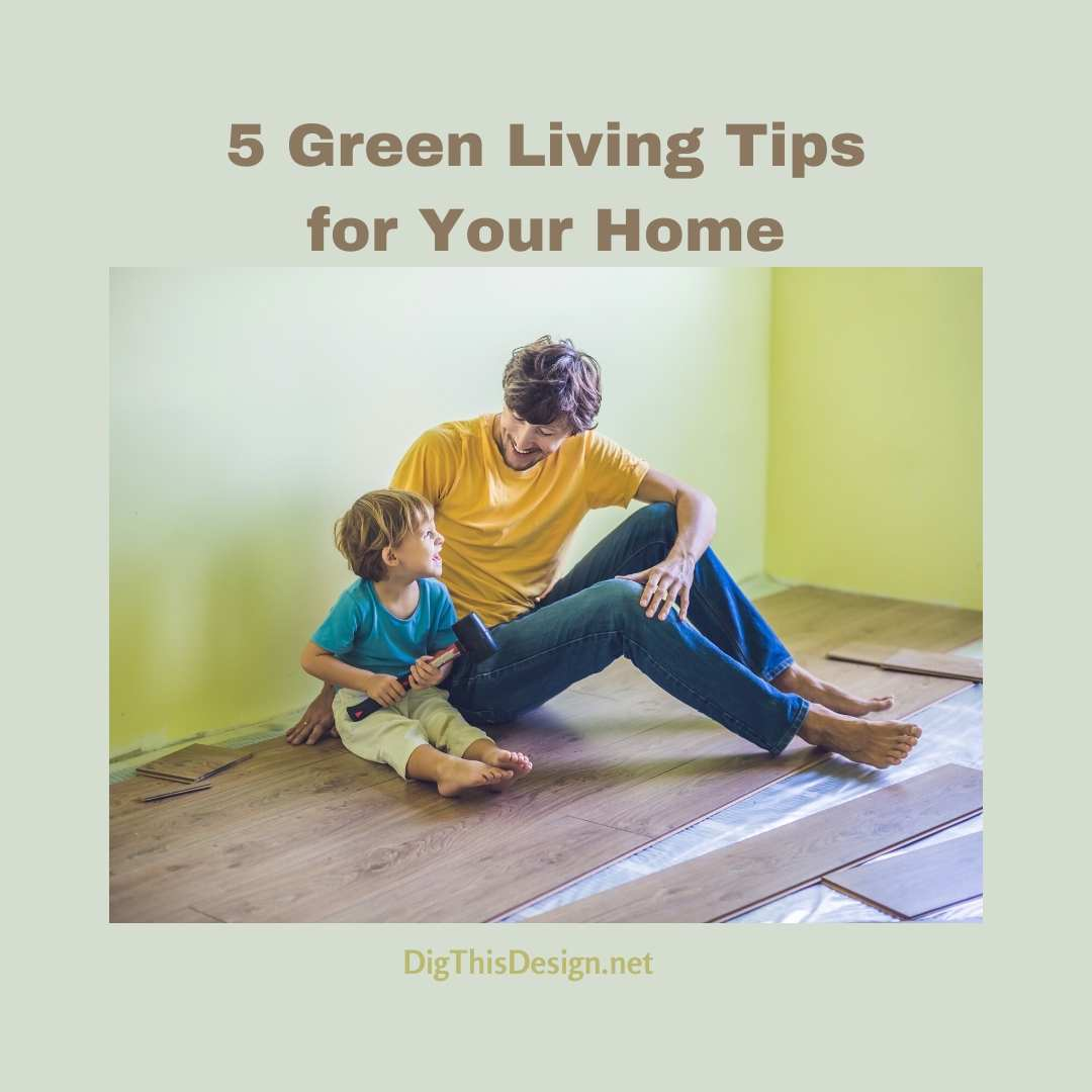5 Green Living Tips for Your Home