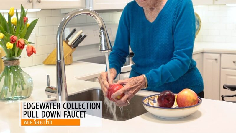 American Standard has product to help you design for the aging parent.