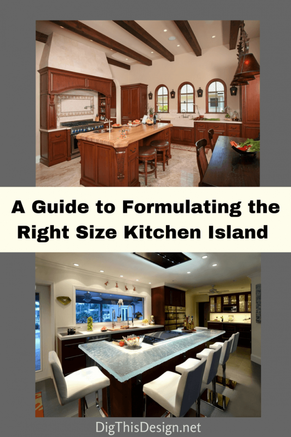 Kitchen Makeover - A Guide to Formulating the Right Size Kitchen Island (1)
