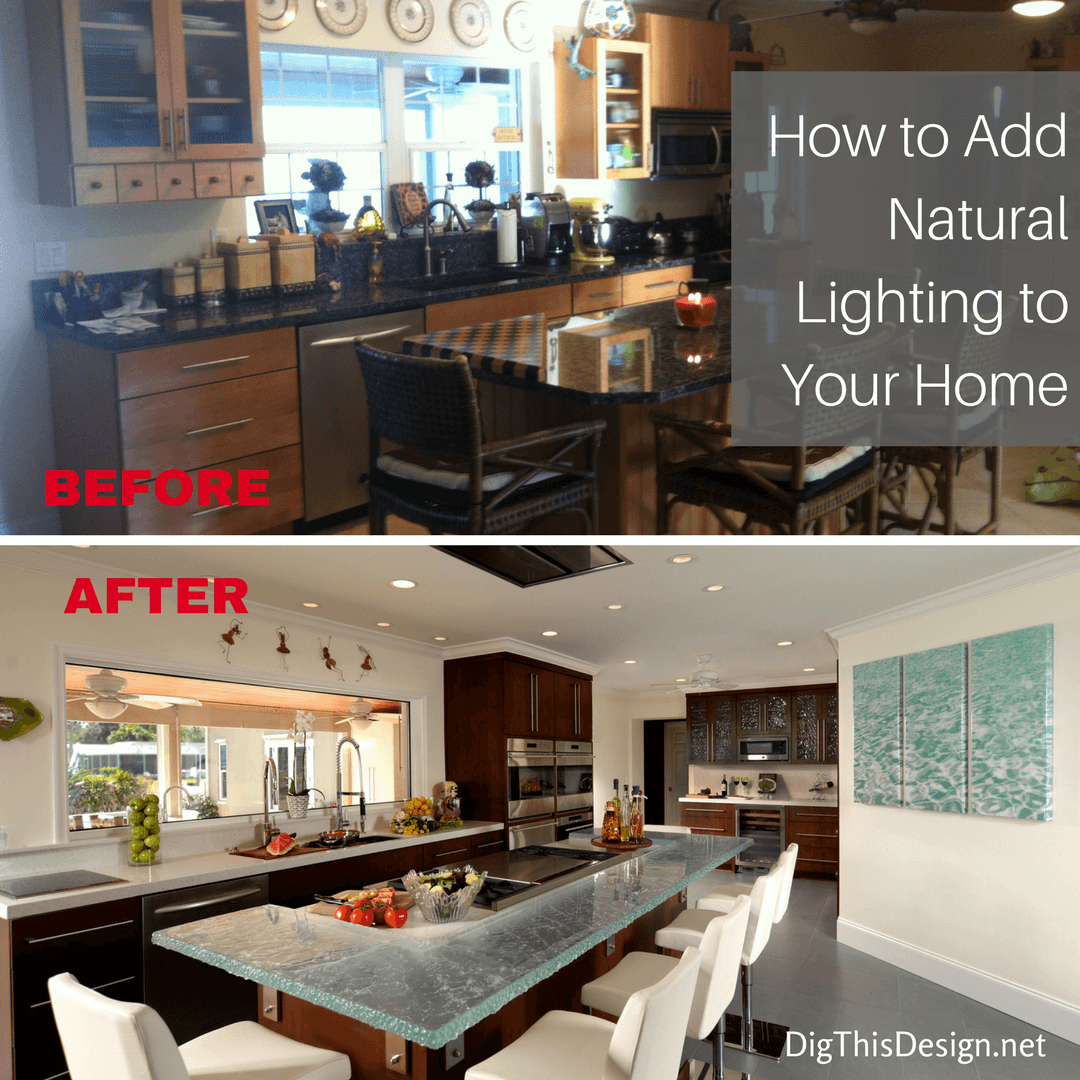Natural lighting is so important to the interior of the home.