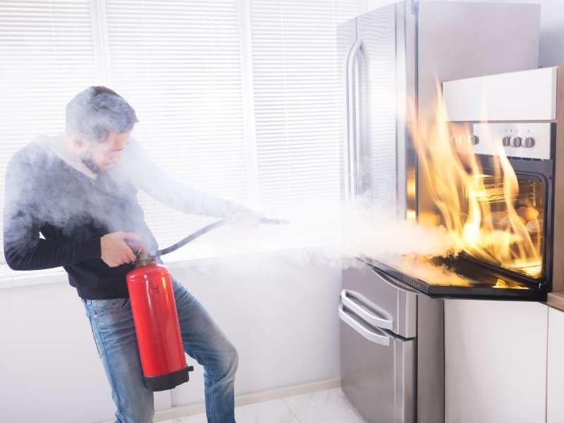Emergency Fire Extinguisher