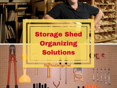 Storage Shed Organizing Solutions