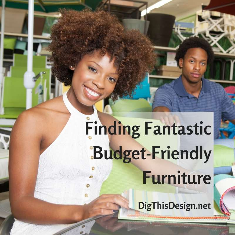 Budget-friendly furniture