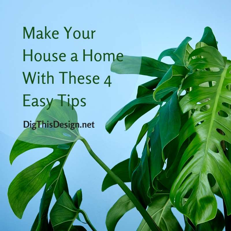 Make Your House a Home With These 4 Easy Tips