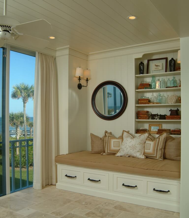 One of the best design tips is to create a reading nook or chill zone