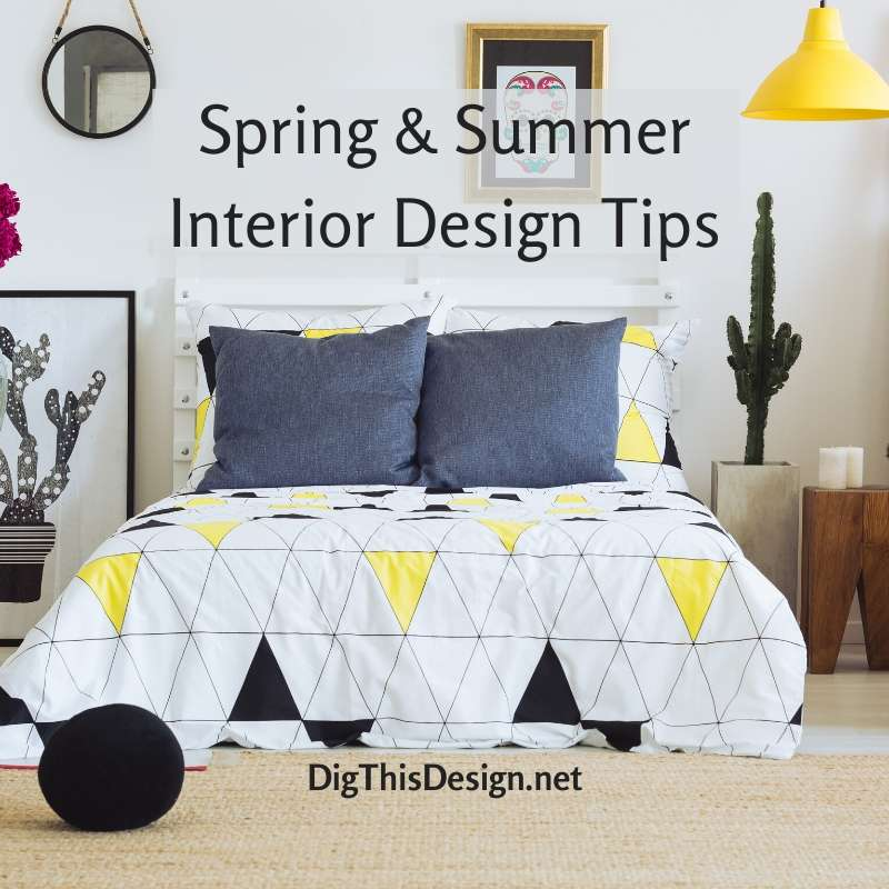 Spring & Summer Interior Design Tips