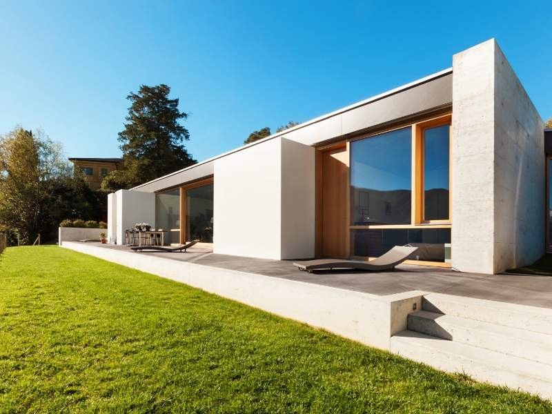 Cement Home Exterior