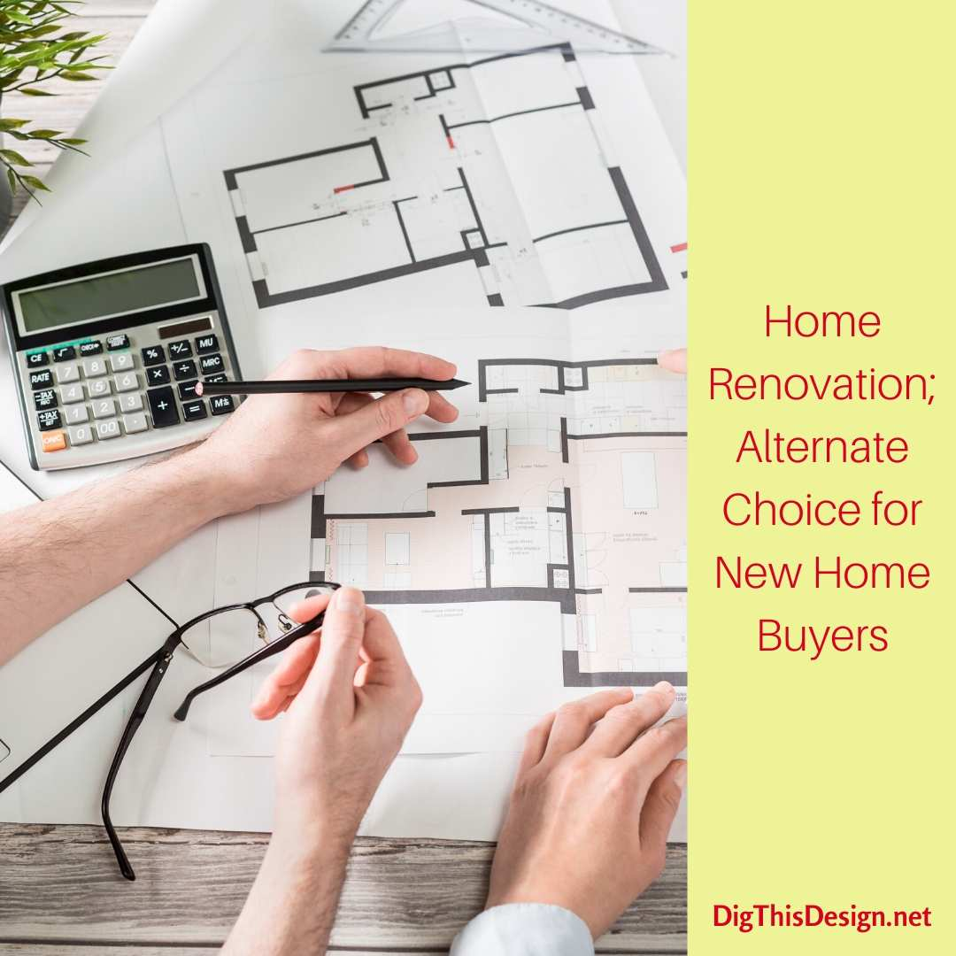 Home Renovation Alternate Choice for New Home Buyers