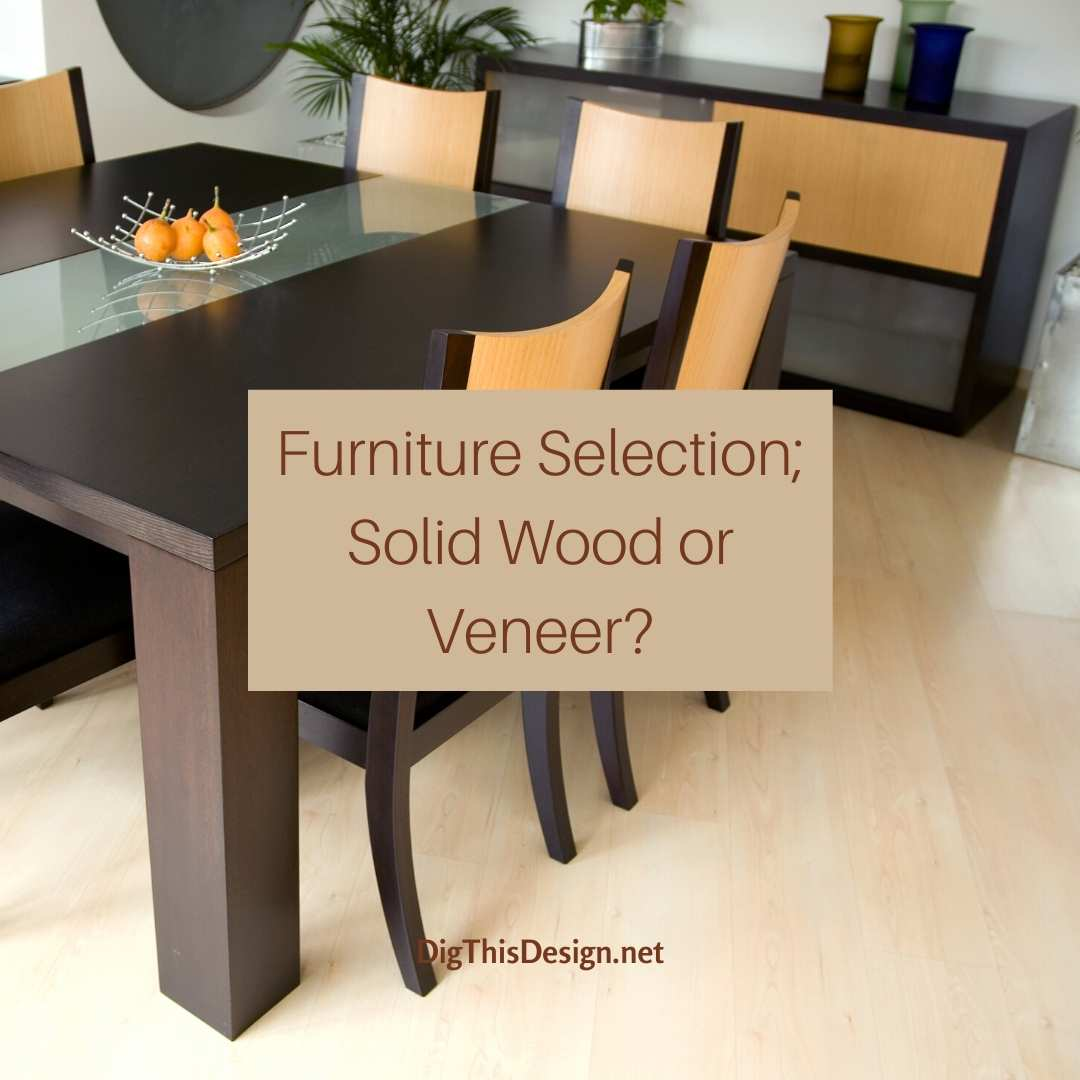 Solid Wood or Veneer