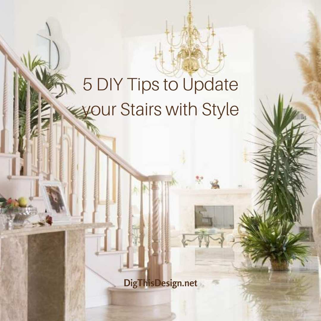 Update Your Stairs with Style