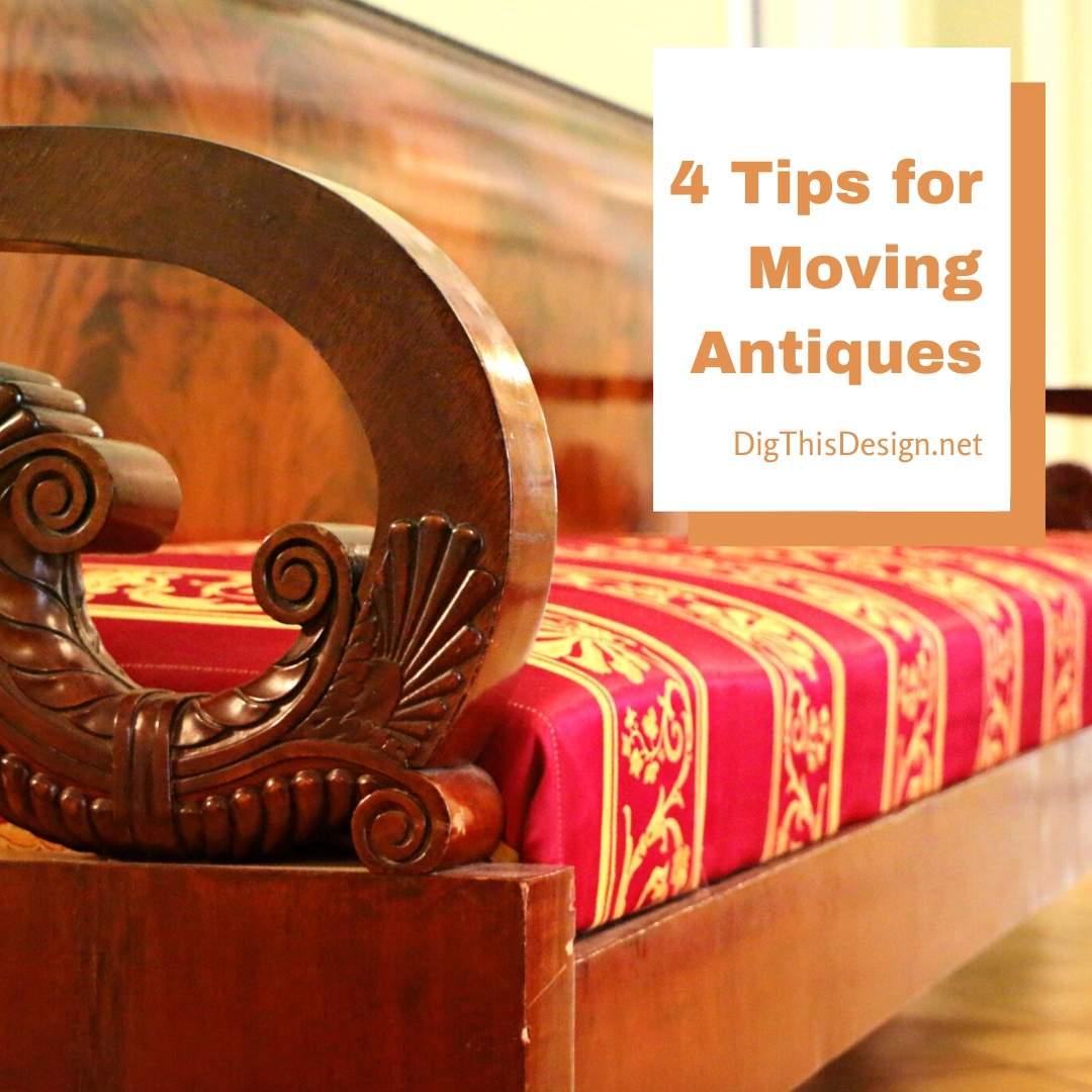 4 Tips for Antique Furniture Moving