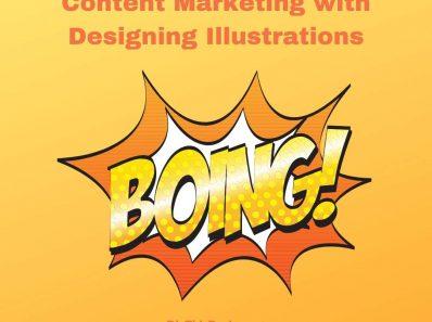 Content Marketing with Designing Illustrations