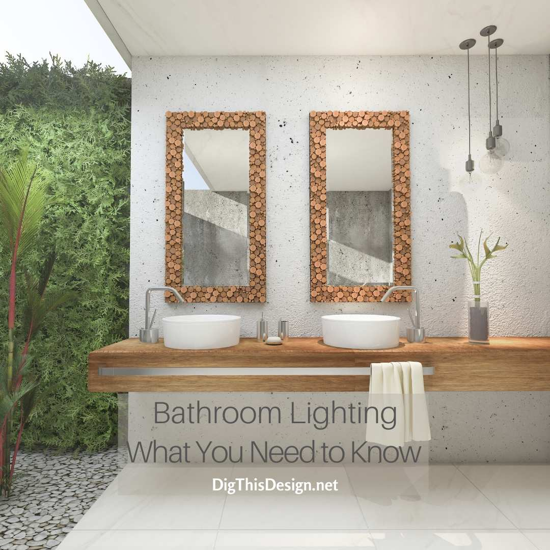 Bathroom lighting what you need to know