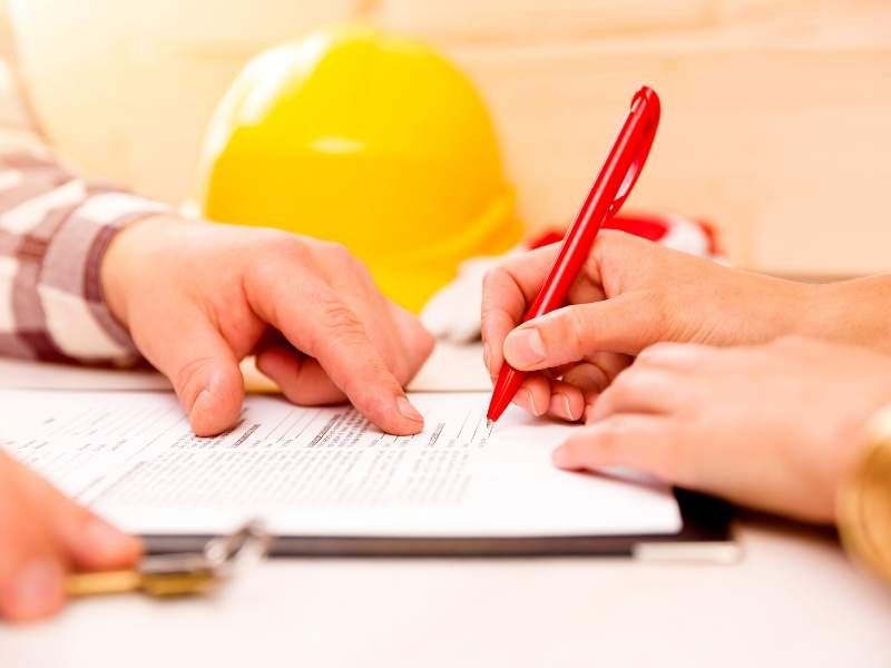 Home renovations contract