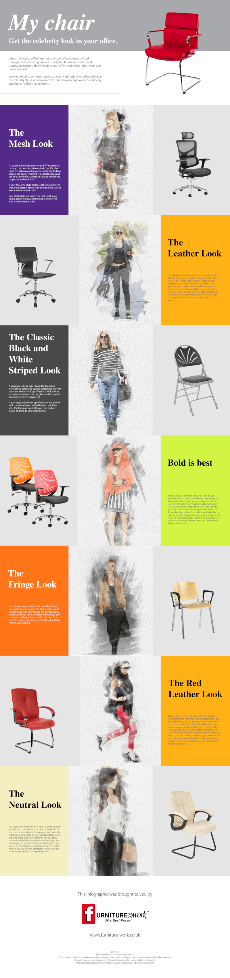 Office Chair Infographic