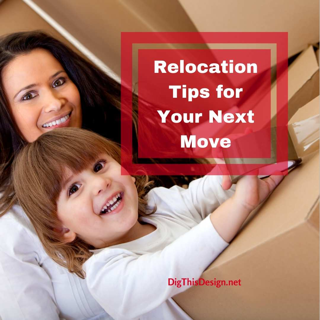 Relocation tips for your move