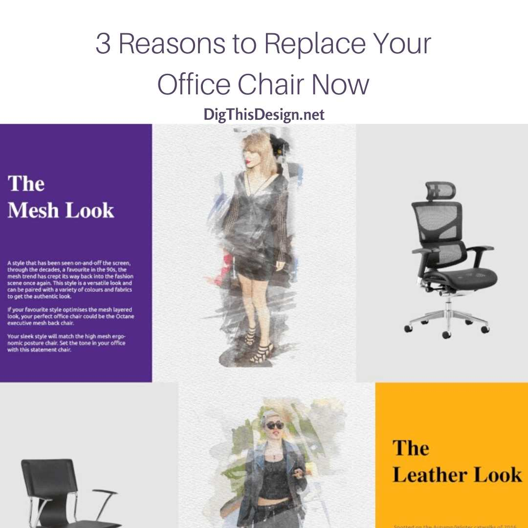 Replace your office chair