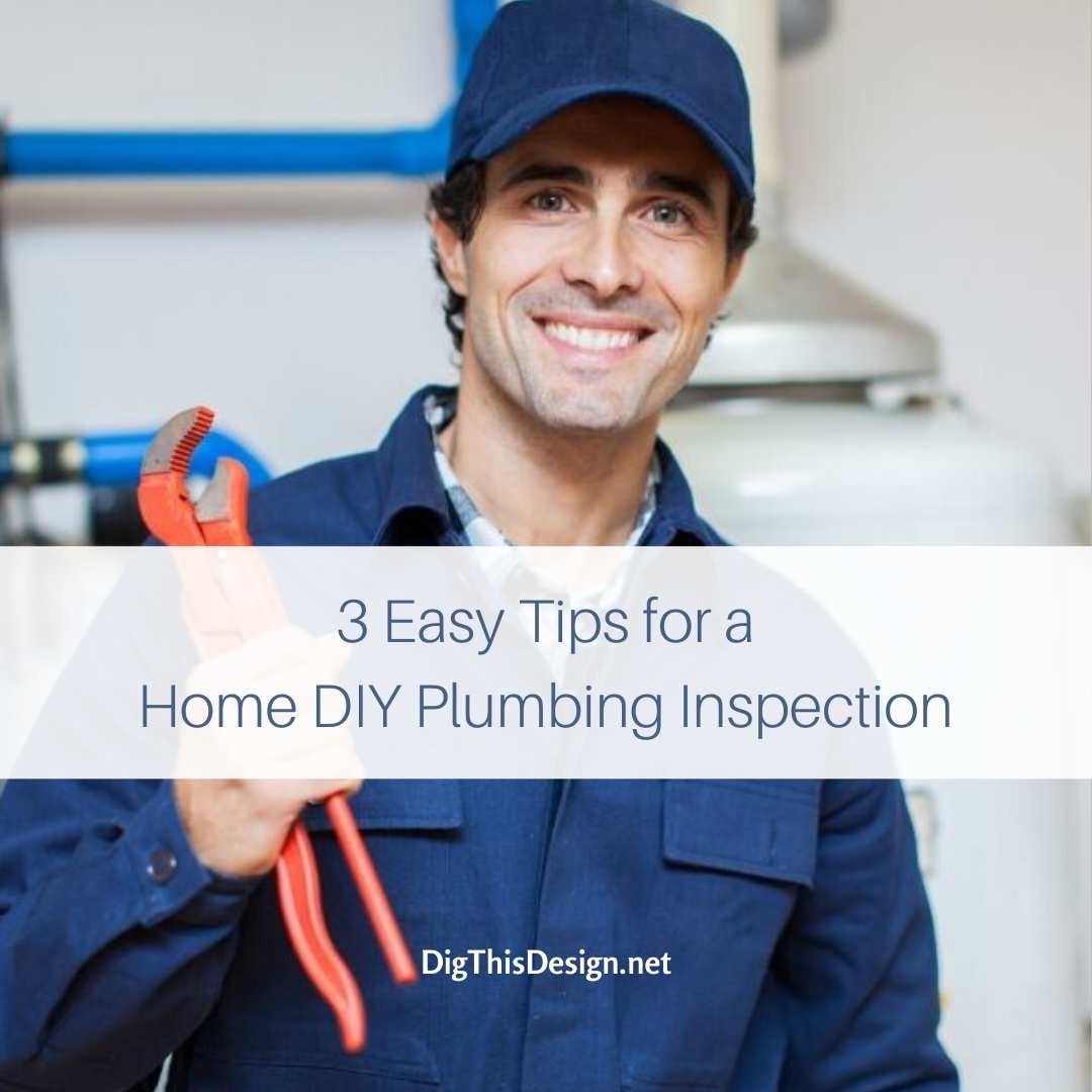 Home DIY Plumbing Inspection
