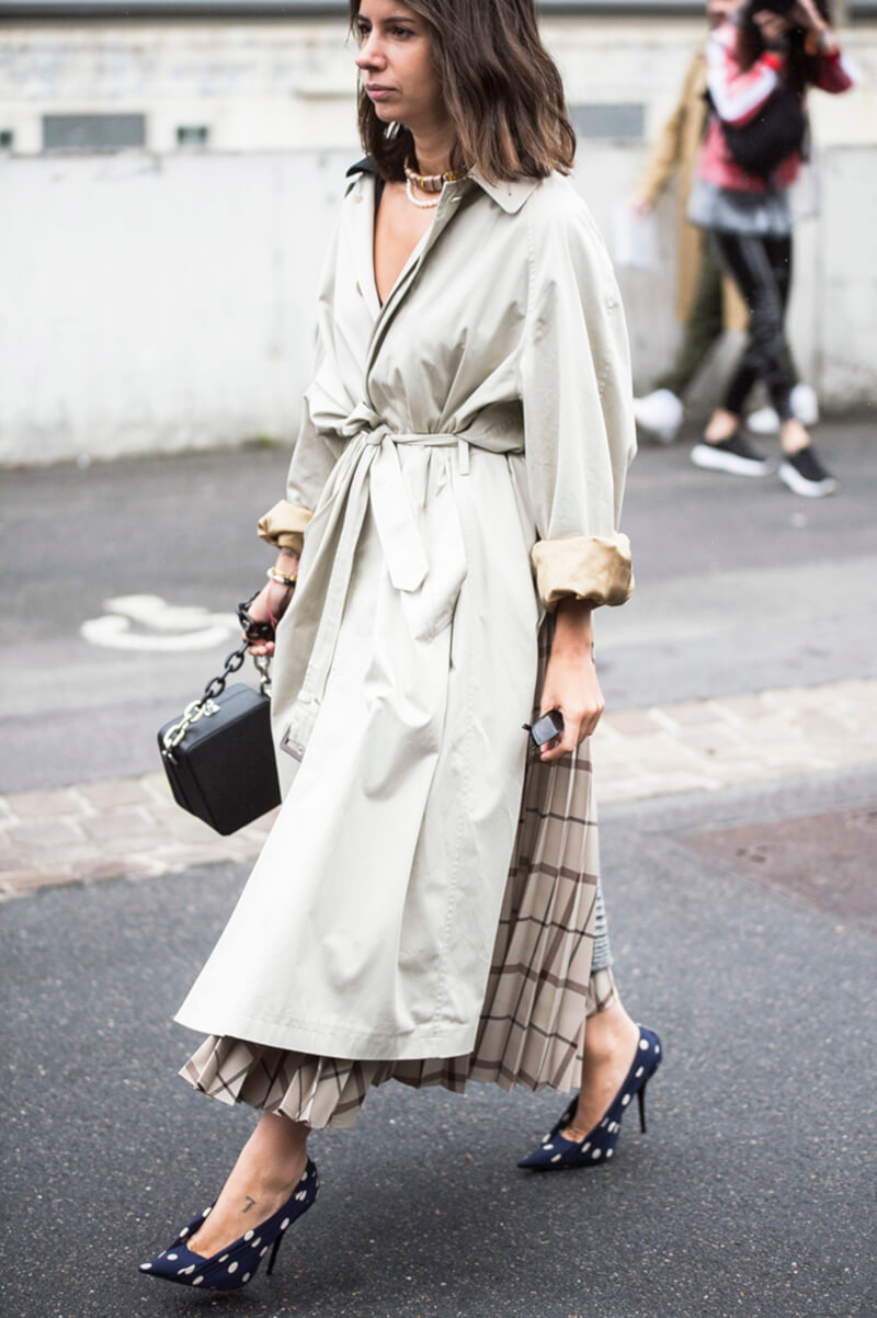 Street Style NYC Trench Coat