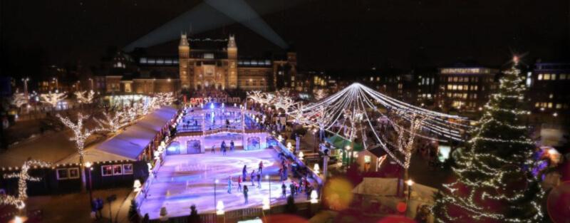 Amsterdam Light Festival Christmas