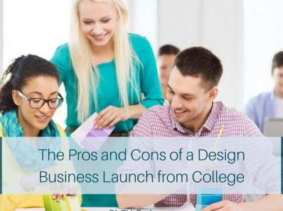 Design Business Launch from College