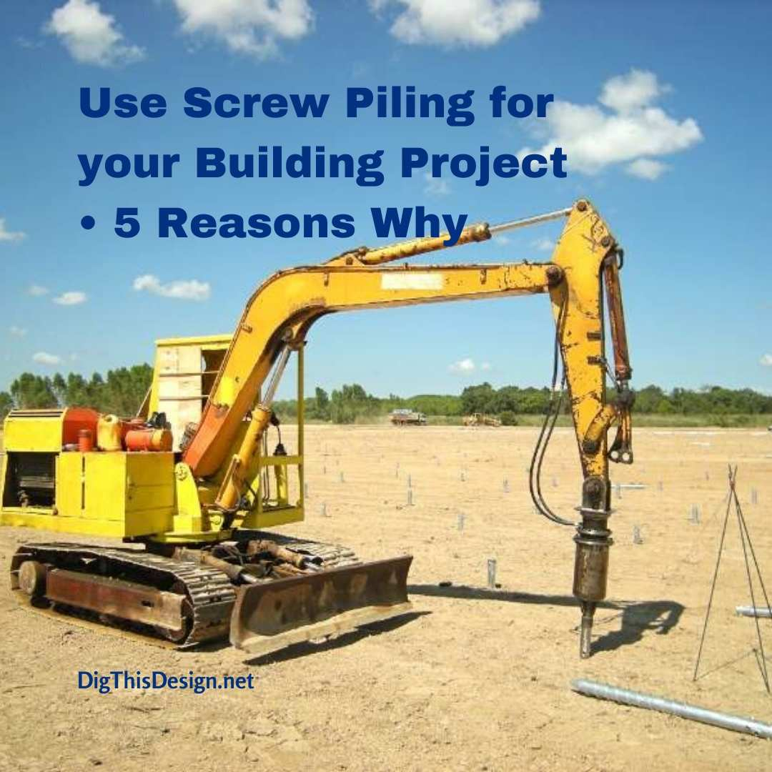 Screw Piling for your Building Project