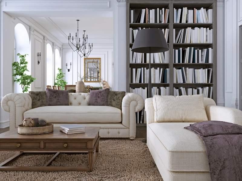 Elegance factor in your living room