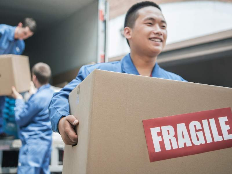 Hire the Pros for Moving Day