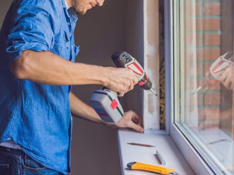 Green energy window sealing