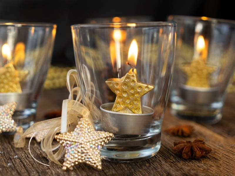 Warm Up Your Winter Patio with Glass and Candless