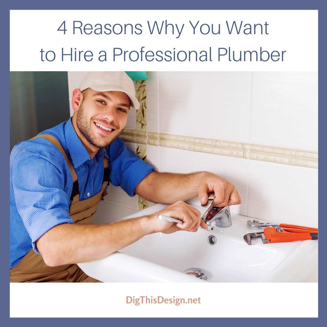 4 Reasons Why You Want to Hire a Professional Plumber