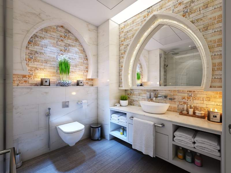 Flattened Gothic Architectural Arch