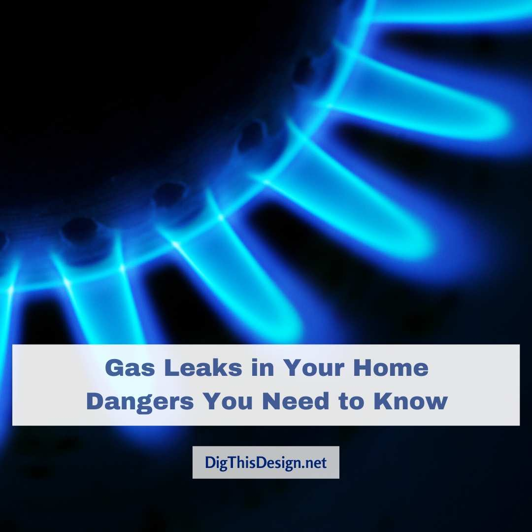 Gas leaks in your home