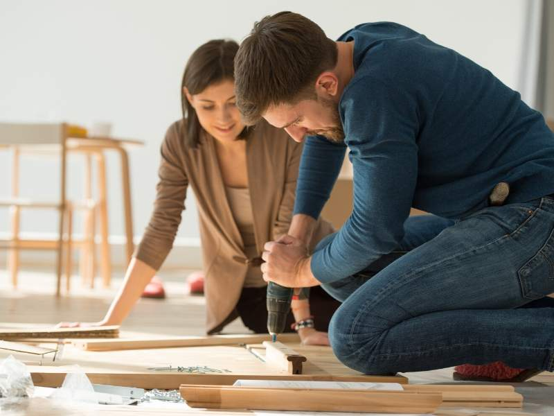 Moving Myths - Furniture is easy to put together.