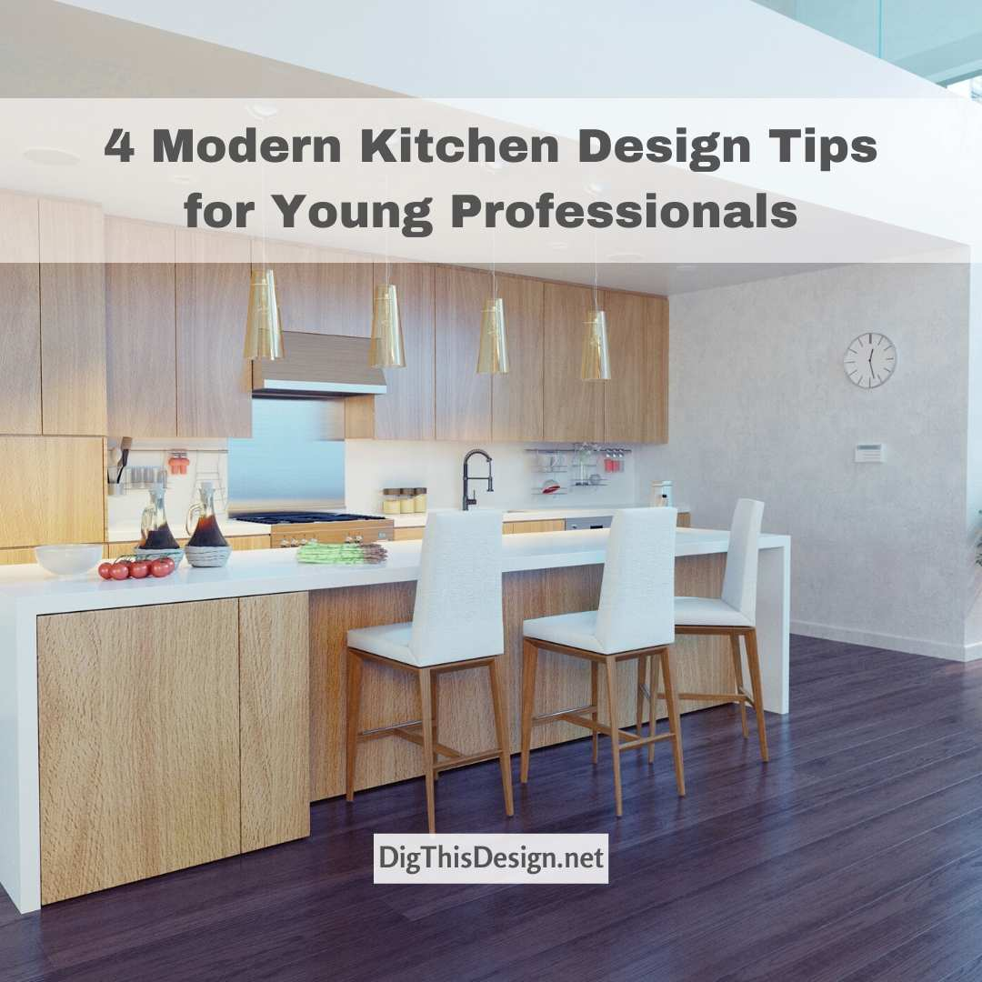 4 Modern Kitchen Designs
