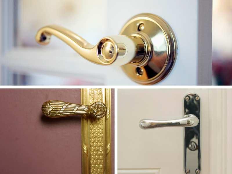 Door handles and locks