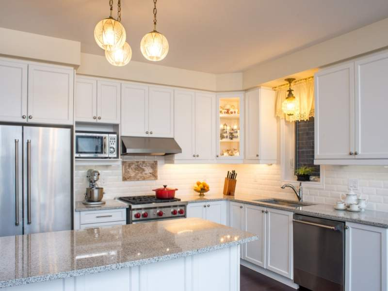 Upgrade kitchens with painted cabinets