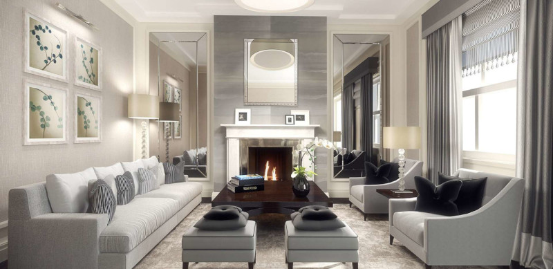 3 Types And Styles Of Contemporary Living Room Lighting