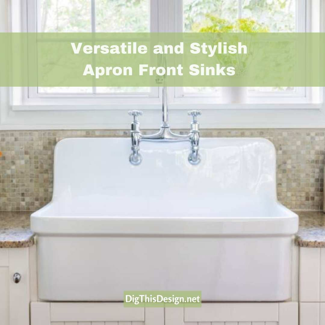 Versatile and Stylish Apron Front Sinks