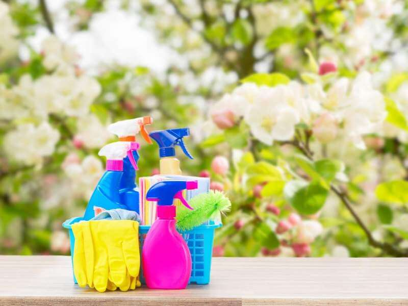 Spruce up with refreshing spring cleaning