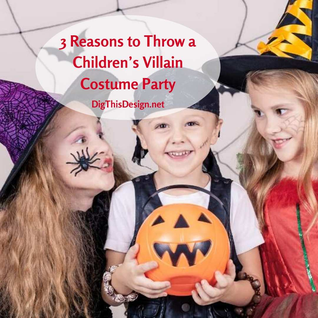 Throw a Children's Villain Costume Party