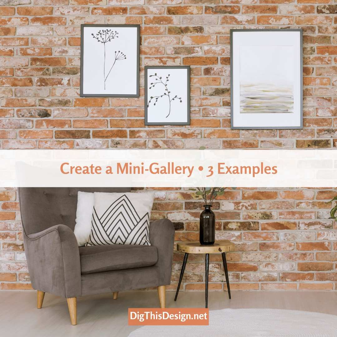 Your Wall with a Mini-Gallery