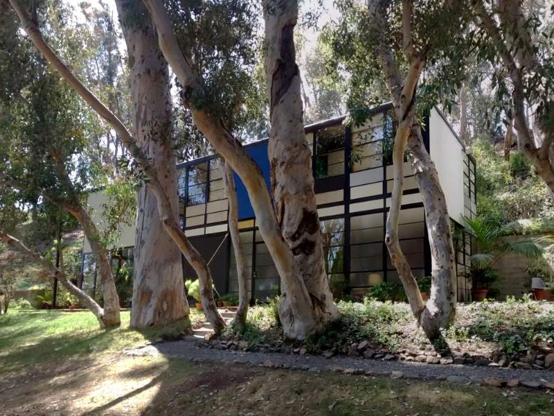 The mid-century modern Eames House
