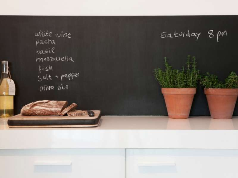 Chalkboard in kitchen decor ideas