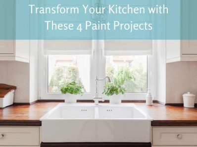 Transform Your Kitchen with These 4 Paint Projects